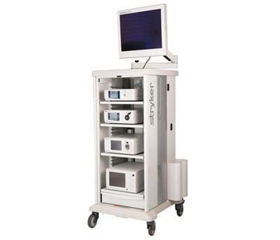果凍矽膠隆乳專用高畫質解析的內視鏡系統Stryker